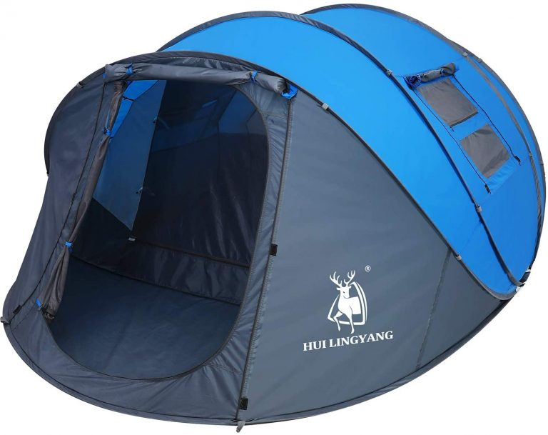HuiLingYang Outdoor Instant Pop-up Dome Tent