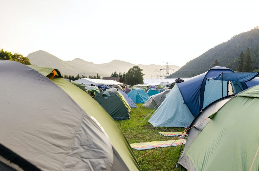 Tent and Set up