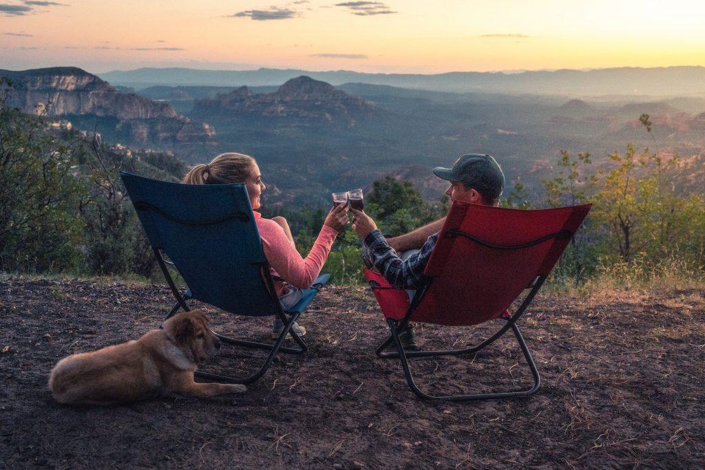 take your dog camping