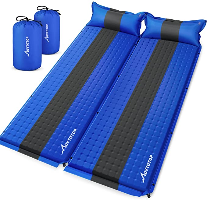 MOVTOTOP Sleeping Pad for Camping 2 Packs